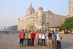 Infront of Taj Hotel