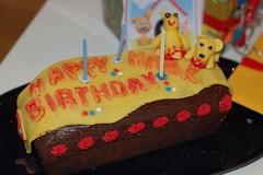 my birthday cake from V2 (flashbender) Tags: cake birthdaycake happybirthday marzipan