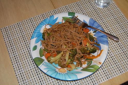 Stir Fry Noodle Dish