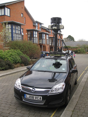 Google Maps Street View Car comes to Winchester