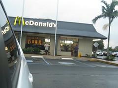 Mc Donalds for breakfast