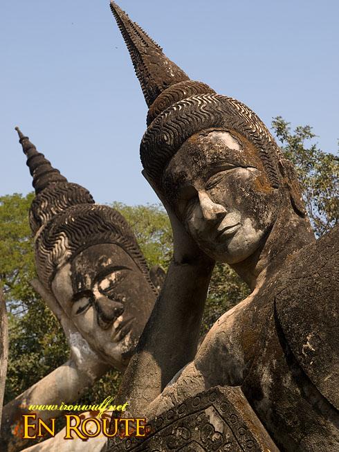 Xieng Khuan Double Reclining Buddha