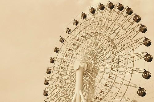 ferris wheel in japan