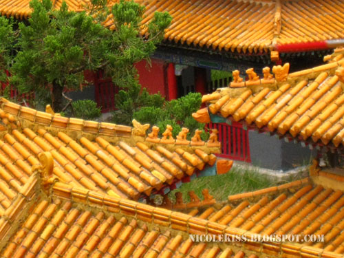 roofs of Temple of Confucius