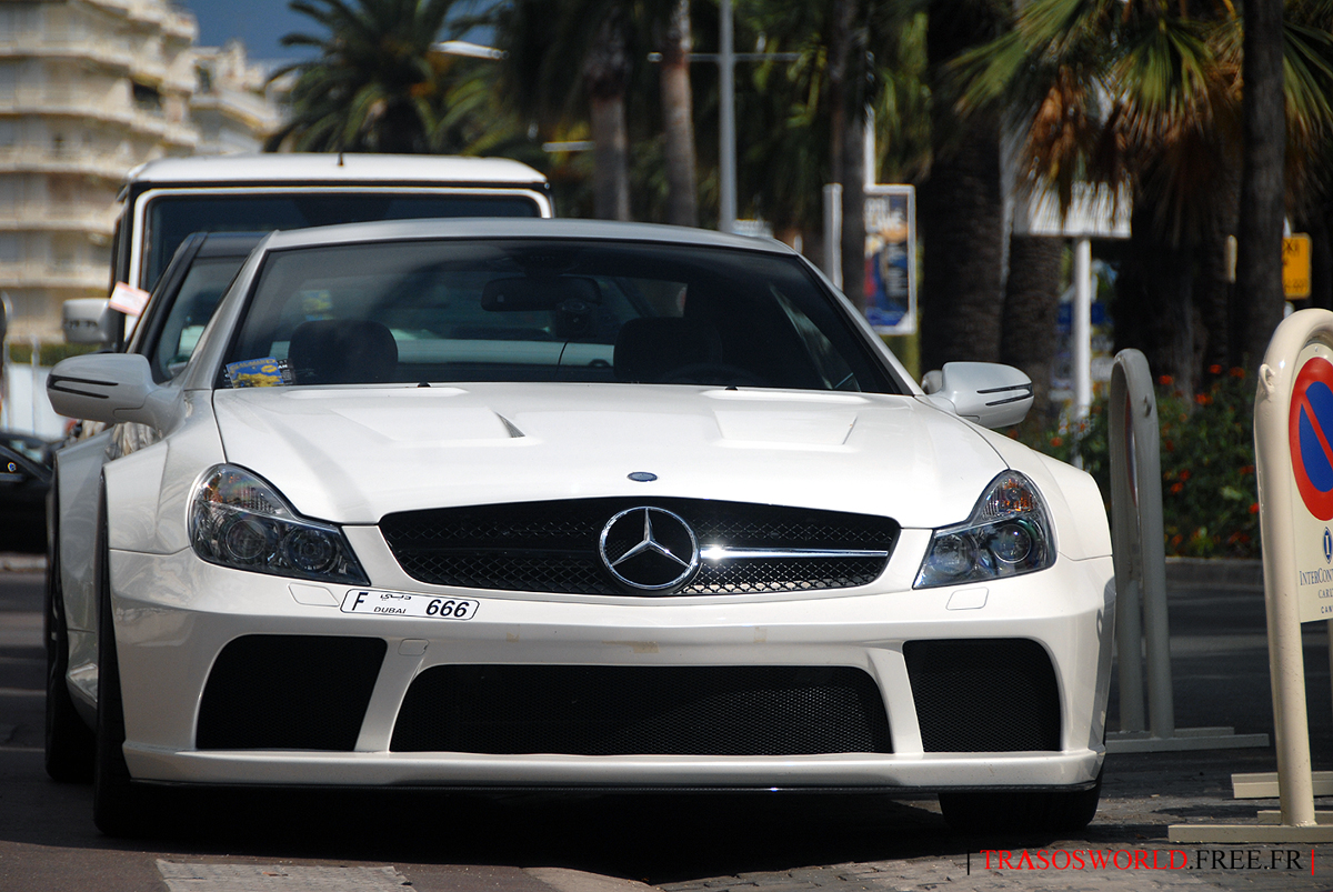 M-B SL65 Black Series from