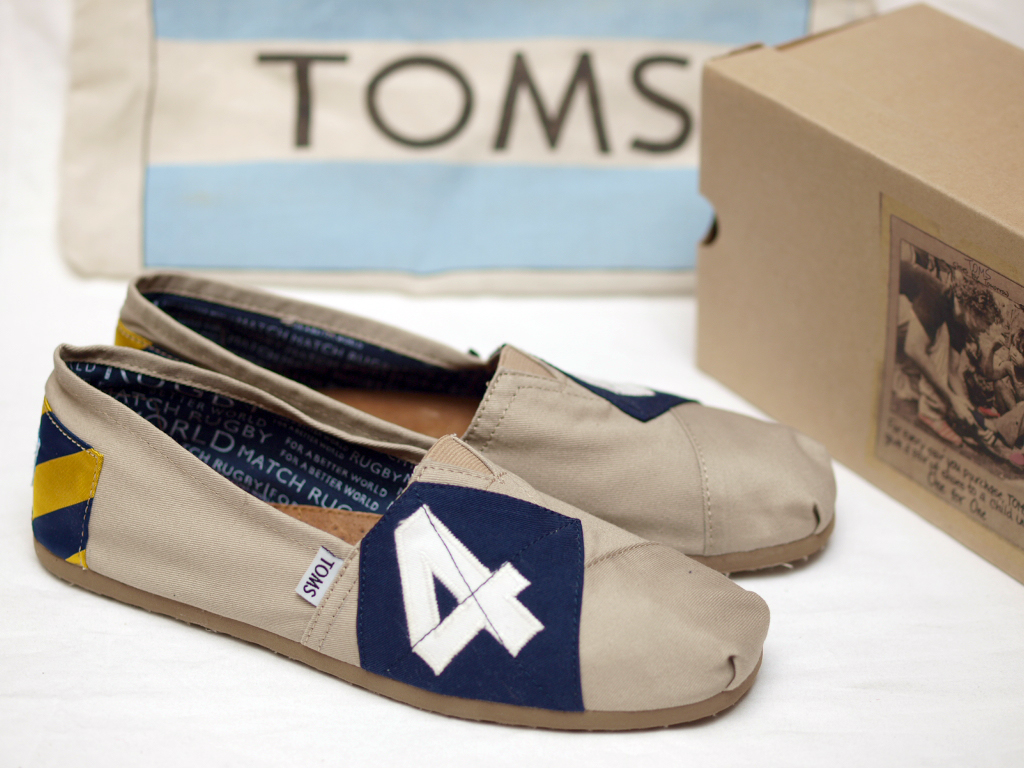 Rugby / Toms Shoes