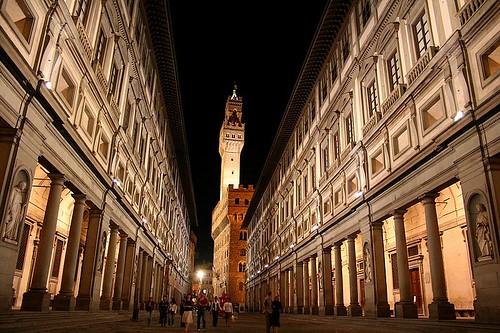 Uffizi Gallery, Florence(Italy)