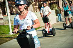 Segway in Paradise (MissMae) Tags: ca usa scott fun sandiego granddaughter grandparents photowalk segway letsgo kelby july182009 scottkelbyphotowalk2009 savagephotography