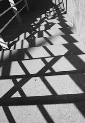 Criss Cross (Mwang23) Tags: shadow metal stairs downtown cross michigan x concret criss aplusphoto