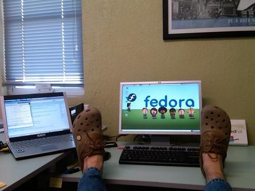 Fedora Kids en uso!!!