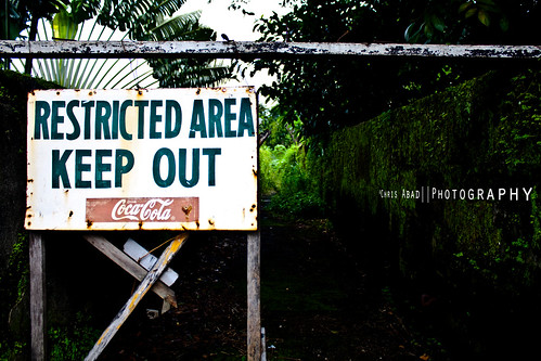 KEEP OUT by lux.musica.khaos, on Flickr