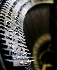 typewriter by Darwin Bell