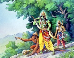 Art Of Ramayan - ISKCON desire tree 031