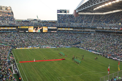 Qwest Field. Photo: The West End on Flickr