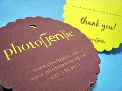 photojenic - hang tags