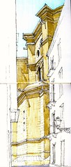 apse (Luis_Ruiz) Tags: architecture sketch spain cathedral drawing catedral andalucia andalusia dibujo malaga mlaga carnetdevoyage urbansketchers