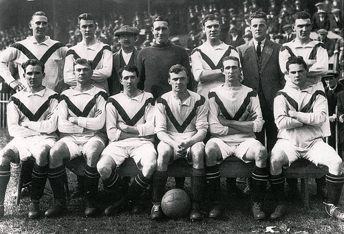 Manchester United 1922-23 team photograph