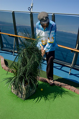 _DSC2107 (dogseat) Tags: cruise green alaska golf boat ship roadtrip devon golfing miniaturegolf sideburns golfer onaboat muttonchops sidewhiskers dundrearies