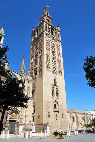 Giralda de Sevilla (España) por Oliventino.