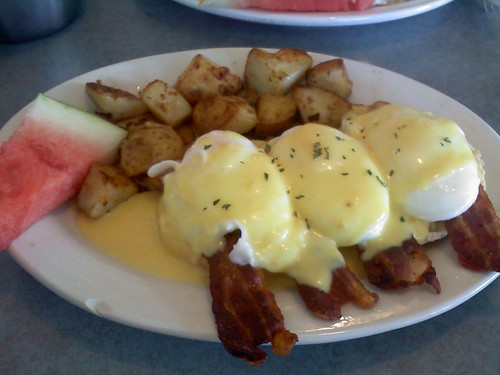 kind of like eggs Benedict!