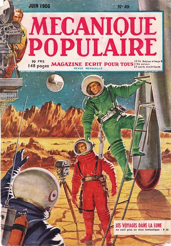 SPACE COVER / MAGAZINE DE 1950