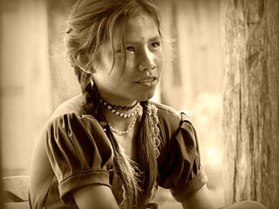 Marisela Rodríguez en una escena de Corazón del tiempo