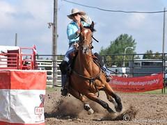 barrelin'.... (shellsnaps) Tags: horse nikon action barrels cowgirl ridgetown rawhiderodeo bottswatsonphotography