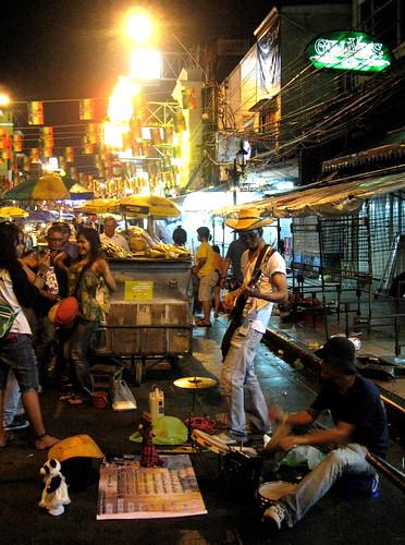 Khao San musicians
