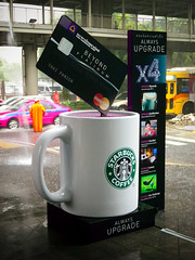 Starbucks / Siam Commercial Bank Joint Promotion