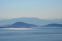 Grecia (vanto5 (Antonio Vaccarini)) Tags: trip travel sea summer panorama sunrise landscape mare estate greece grecia paysage canoneos350d  canonef24105mmf4lisusm