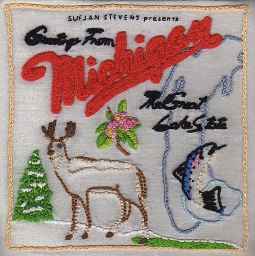 "Sufjan Stevens' ""Michigan"" album cover"