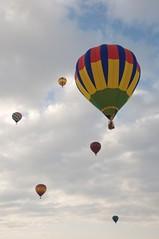 Balloon Festival (sirvonrohr) Tags: newmexico nikon balloon hotairballoon balloonfestival whitesandsnationalmonument d90 otw wsnm