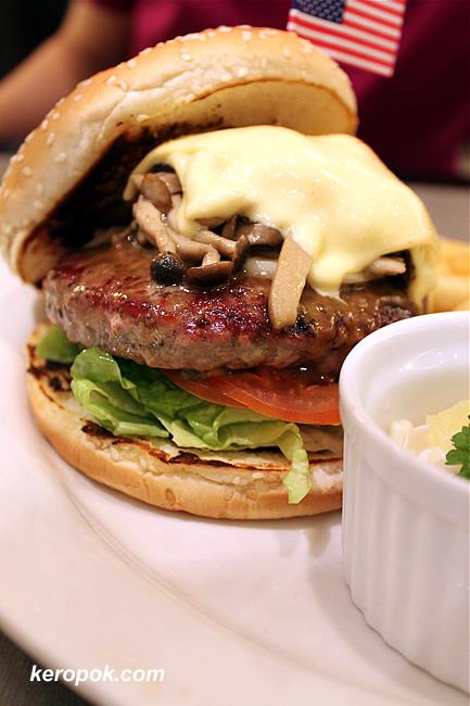 Mega Mushroom Burger