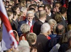 Frank-Walter Steinmeier in Münster (SPD.de) Tags: politik bundestagswahl politics wahlkampf spd münster deudeutschland bundestagswahlkampf steinmeier frankwaltersteinmeier sozialdemokratie mnster