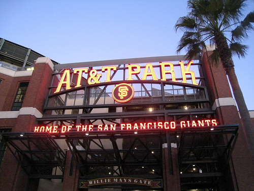 Saket Vora » SF Giants baseball game with Krupali
