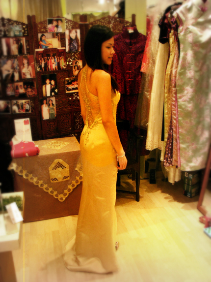 lifen_gold_cheongsam back