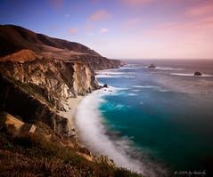 Big Sur Coastline (Jay Tankersley Photography) Tags: ocean california sunset sea seascape beach 1 big highway rocks long exposure pacific hills coastal nd sur coastline grad efs1022mmf3545usm