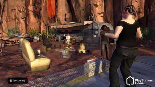 PlayStation Home MotorStorm Apartment