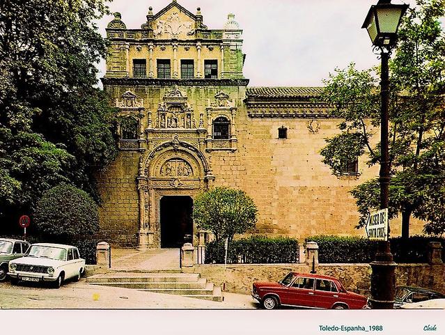 Museo de Santa Cruz en 1988. Fotografía de Cleide