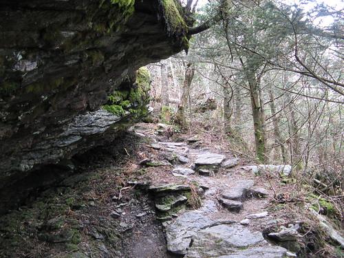 Rocky overhang