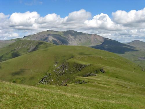 Snowdon from Moel Eilio : 3351a