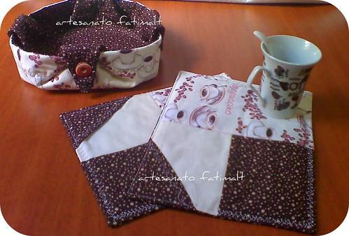 MUg Rugs e Cesta para pães ou biscoitos by fatimalt