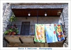 Balconies of Mesta,Chios/GR (CTPPIX.com) Tags: old trip travel summer vacation building architecture canon island greek eos town tour village balcony balkon urlaub aegean barbie hellas towel greece journey 7d gr ctp cinderella beachtowel excursion barbi 2010 chios griekenland griek hios hellenic greekisland dailytrip xios havlu sakiz medievalvillage mesta grek khios christpehlivan ctppix sakizadasi plajhavlusu xioy kanaristour northchiostour cocukhavlusu