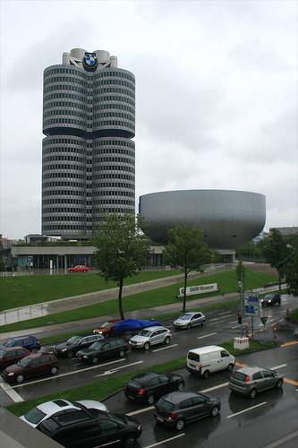 Blick auf BMW Museum - BMW Museum