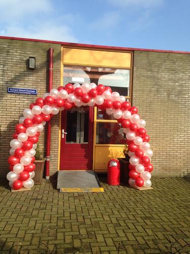 Ballonboog 6m Sportschool Richard de Bijl Spijkenisse