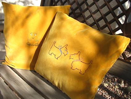 Peety's pillows