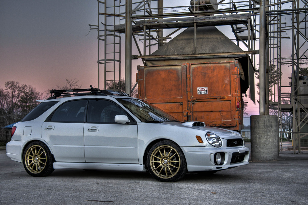 02 Subaru WRX Wagon in HDR  HDR Creation in photographyonthe