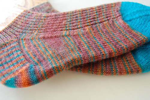 Pacific Sunrise Socks