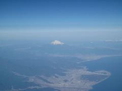2009年1月14日の富士山