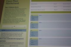 Care Plan worksheet
